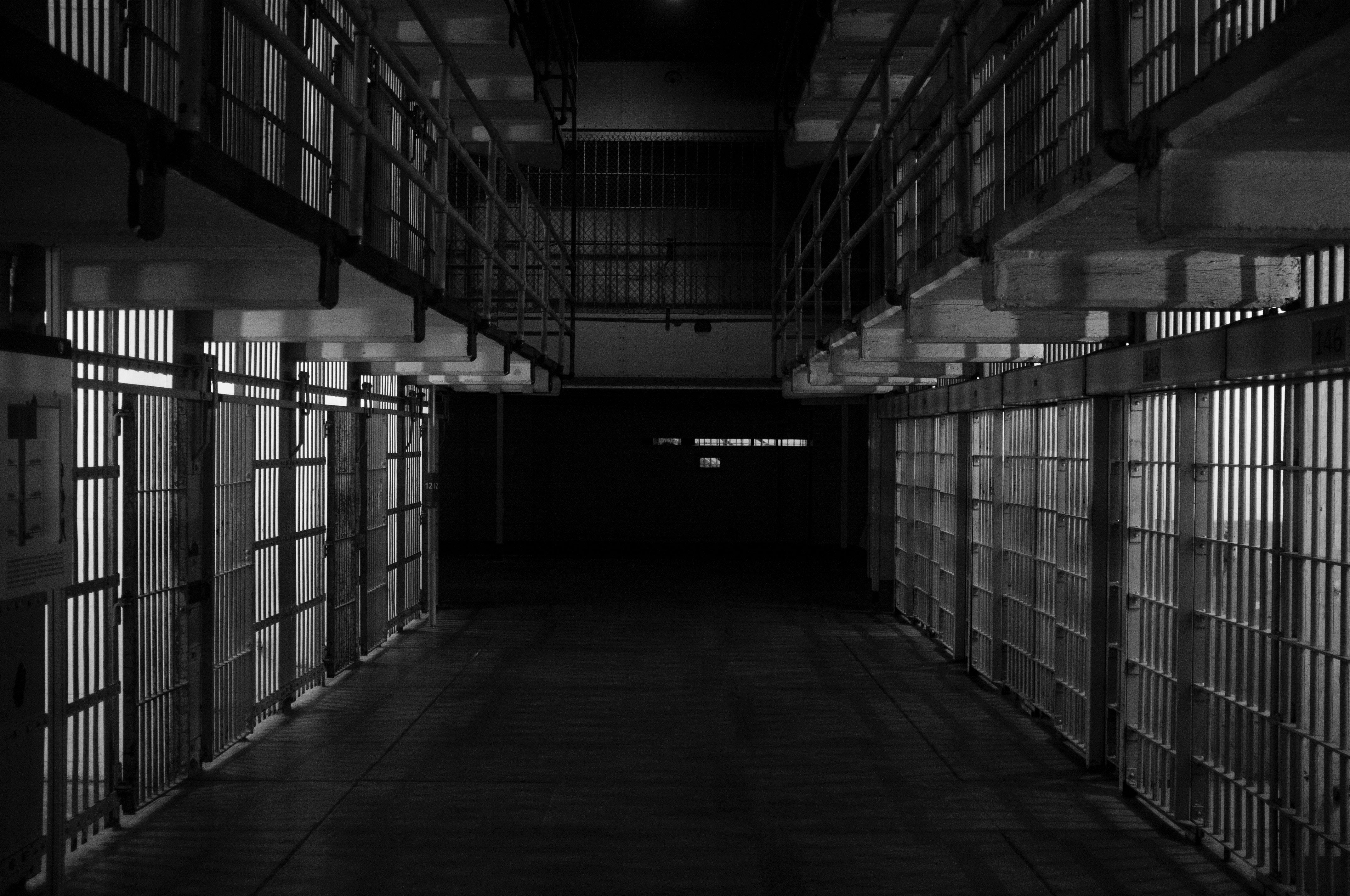 empty jail